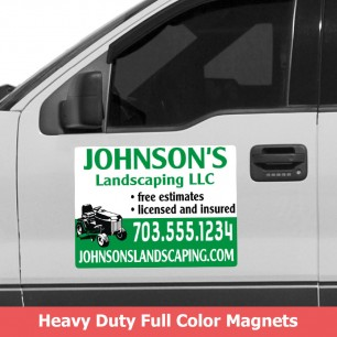 Full Color Car Magnets