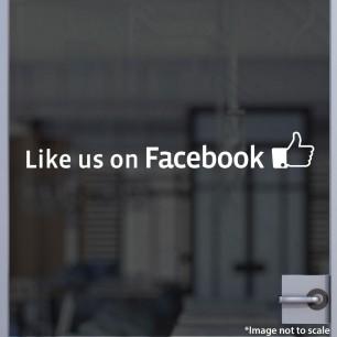Like Us on Facebook Decal