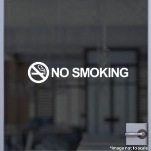 No Smoking Decal Style 2