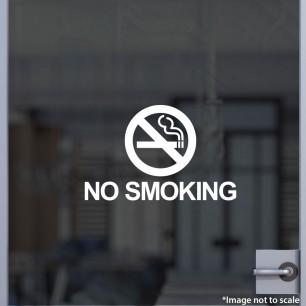 No Smoking Decal Style 3