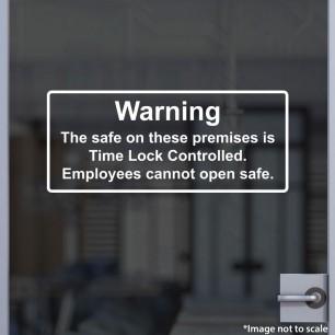 Time Lock Decal