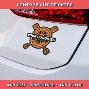 Contour Cut Stickers