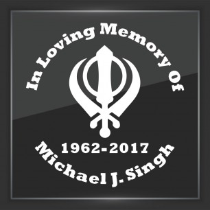In Memory of Decal - Religious 10