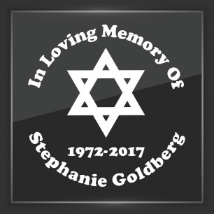 In Memory of Decal - Religious 12