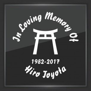In Memory of Decal - Religious 14