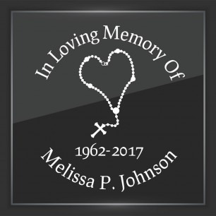 In Memory of Decal - Religious 1