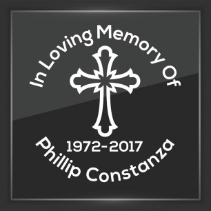 In Memory of Decal - Religious 5