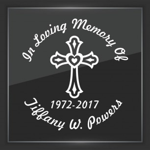 In Memory of Decal - Religious 7