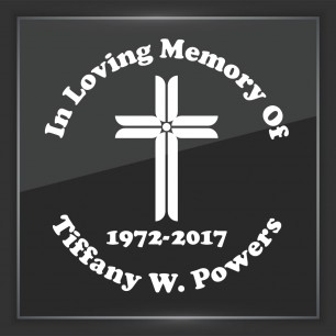 In Memory of Decal - Religious 8