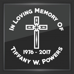 In Memory of Decal - Religious 9