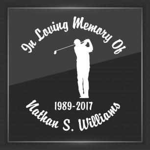 In Memory of Decal - Sports