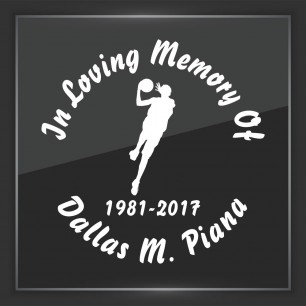 In Memory of Decal - Sports 2