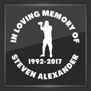 In Memory of Decal - Sports 4