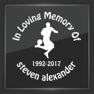 In Memory of Decal - Sports 5