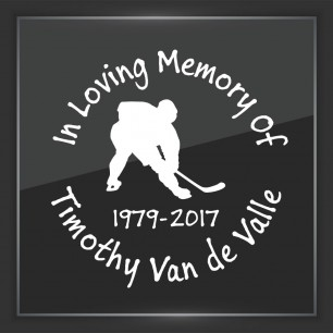 In Memory of Decal - Sports 6