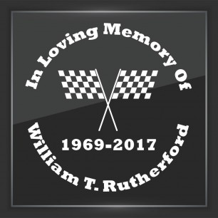 In Memory of Decal - Vehicle 3