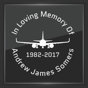 In Memory of Decal - Vehicle 7