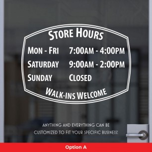 Open Hours Style 03
